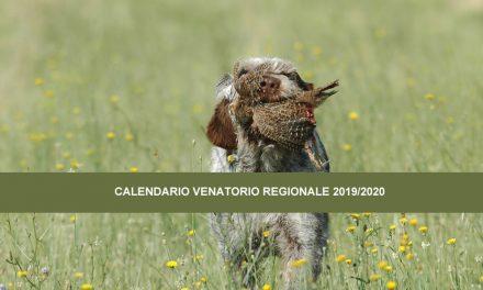 Calendario venatorio regionale 2019/2020